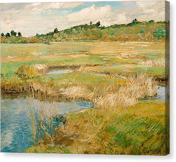 The Concord Meadow Canvas Print by Mountain Dreams