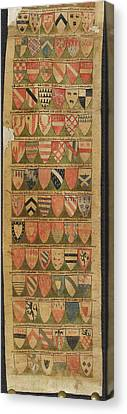 The Dering Roll Canvas Print by British Library
