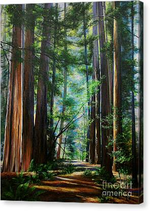 The Elders Canvas Print by Jeanette French