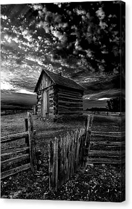 The Gate Canvas Print by Phil Koch