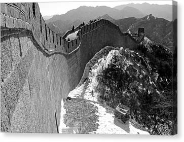 The Great Wall Of China Canvas Print by Sebastian Musial