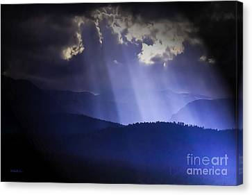 The Light Canvas Print by Mitch Shindelbower
