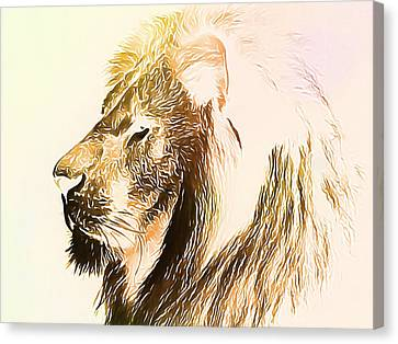 The Lion King Canvas Print by Dan Sproul
