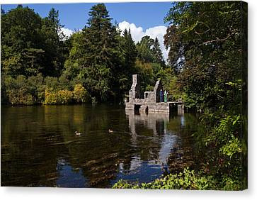 The Monks Fishing House, Part Of Cong Canvas Print by Panoramic Images