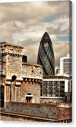 The Old And The New Canvas Print by Joanna Madloch