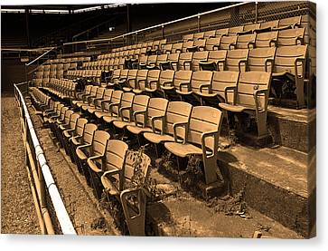 The Old Ballpark Canvas Print by Frank Romeo