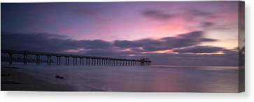 The Scripps Pier Canvas Print by Peter Tellone