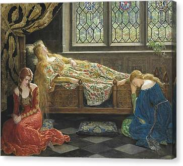 The Sleeping Beauty Canvas Print by Philip Ralley
