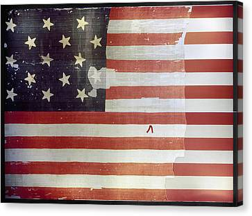 The Star Spangled Banner Canvas Print by Granger