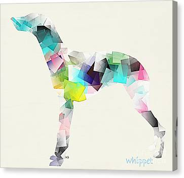 The Whippet  Canvas Print by Bri B