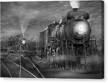 The Yard Canvas Print by Mike McGlothlen