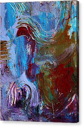 Thinking Machine Canvas Print by Oscar Penalber