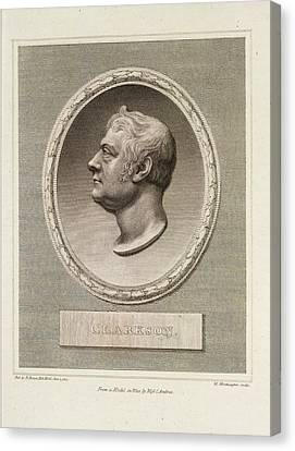 Thomas Clarkson Canvas Print by British Library