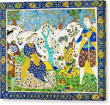Tile Panel Canvas Print by Celestial Images