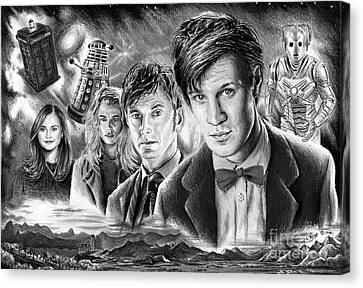 Time Travel Canvas Print by Andrew Read