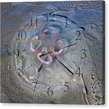 Timing Canvas Print by Betsy Knapp