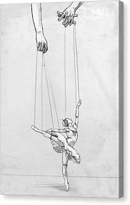 Tiny Dancer Canvas Print by H James Hoff