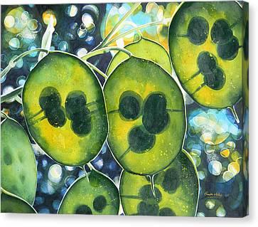 Translucency Canvas Print by Adel Nemeth