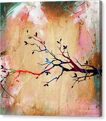 Tree Branch Collection Canvas Print by Marvin Blaine
