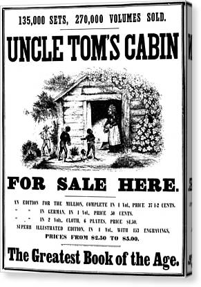 Uncle Tom's Cabin, C1860 Canvas Print by Granger