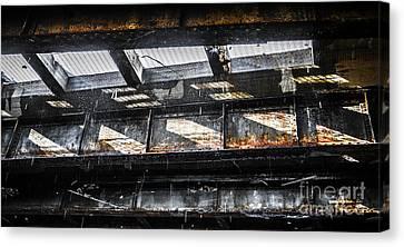 Under The Street Canvas Print by Diane Diederich