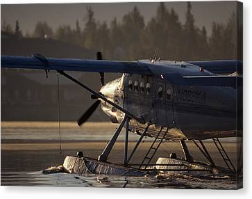 Usa, Alaska, Float Plane, Anchorage Canvas Print by Gerry Reynolds