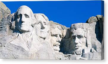 Usa, South Dakota, Mount Rushmore Canvas Print by Panoramic Images