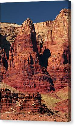 Vermilion Cliffs In The Morning, Lee's Canvas Print by Michel Hersen