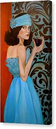 Veronica Canvas Print by Debi Starr