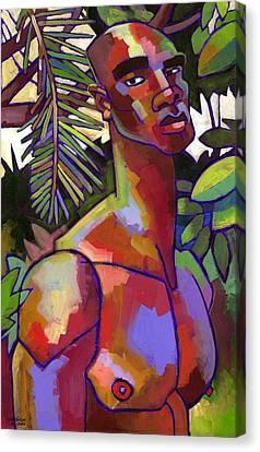 African Forest Canvas Print by Douglas Simonson