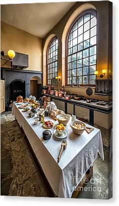 Victorian Kitchen Canvas Print by Adrian Evans
