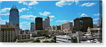 View Of Buildings In Austin, Texas, Usa Canvas Print by Panoramic Images