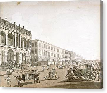 View Of Calcutta Canvas Print by British Library