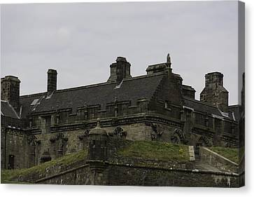 View Of The Structure Of Stirling Castle Canvas Print by Ashish Agarwal