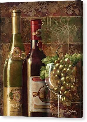 Vino D'annata Canvas Print by Janet Stever