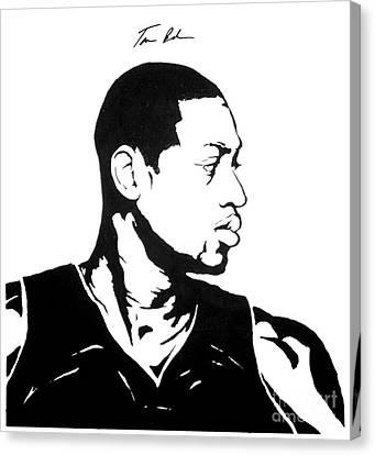 Wade Canvas Print by Tamir Barkan
