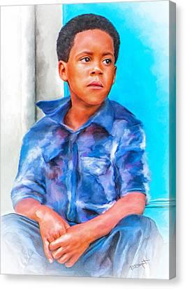 Waiting Canvas Print by Brenda Bryant