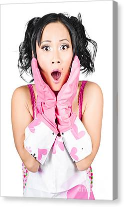 What A Mess Said The Shocked Cleaning Woman Canvas Print by Jorgo Photography - Wall Art Gallery