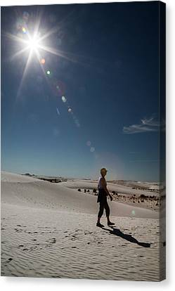 White Sands National Monument Canvas Print by Jim West