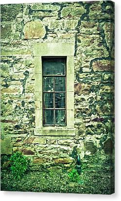 Window Canvas Print by Tom Gowanlock