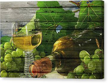 Wine Canvas Print by Joe Hamilton