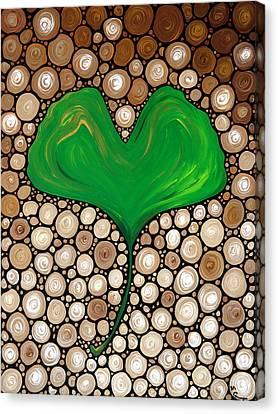 Wisdom Canvas Print by Sharon Cummings