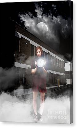 Woman After Midnight Canvas Print by Jorgo Photography - Wall Art Gallery