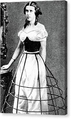 Women's Fashion, C1850 Canvas Print by Granger