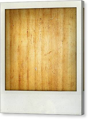 Wood Texture Canvas Print by Les Cunliffe