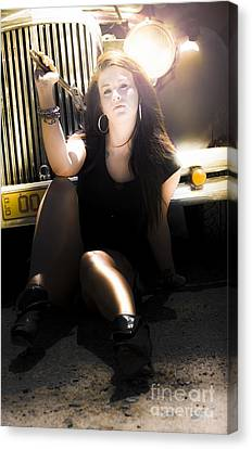 Working Class Woman Canvas Print by Jorgo Photography - Wall Art Gallery