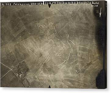 World War I Trenches Canvas Print by Ny State Military Museum