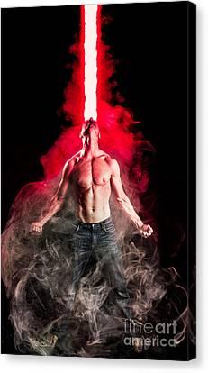 X-men Cyclops  Canvas Print by Jt PhotoDesign