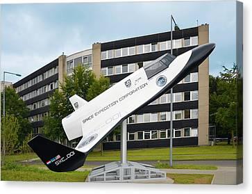 Xcor Lynx Commercial Rocketplane Canvas Print by Detlev Van Ravenswaay