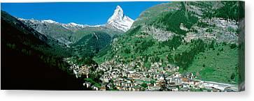 Zermatt, Switzerland Canvas Print by Panoramic Images